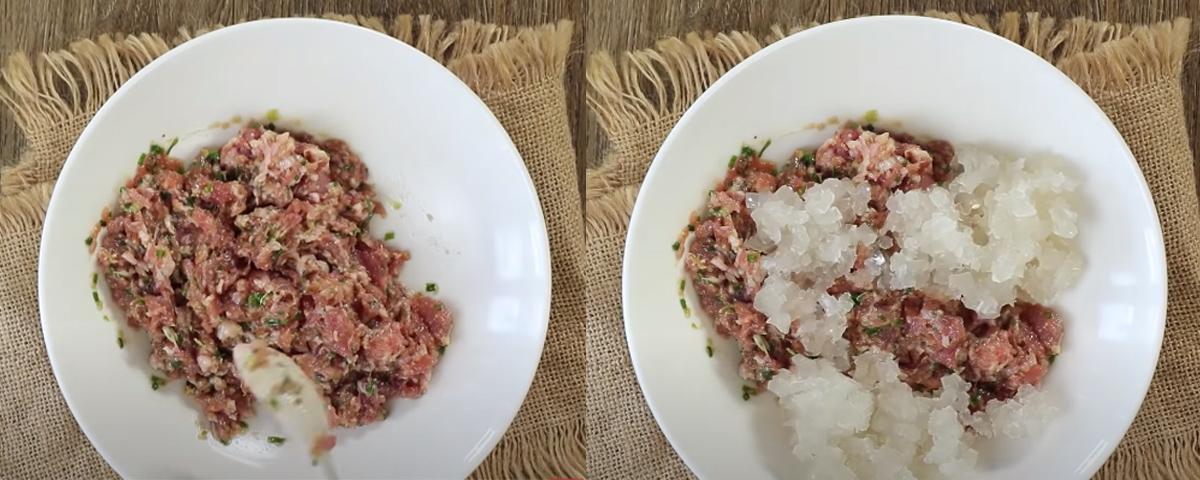 Bước 2 Làm nhân Bánh Xiao Long Bao - Tiểu long bao