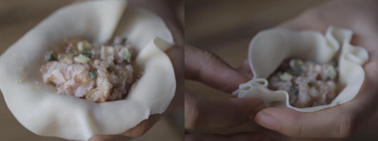Bước 4 Tạo hình bánh Bánh Xiao Long Bao - Tiểu long bao