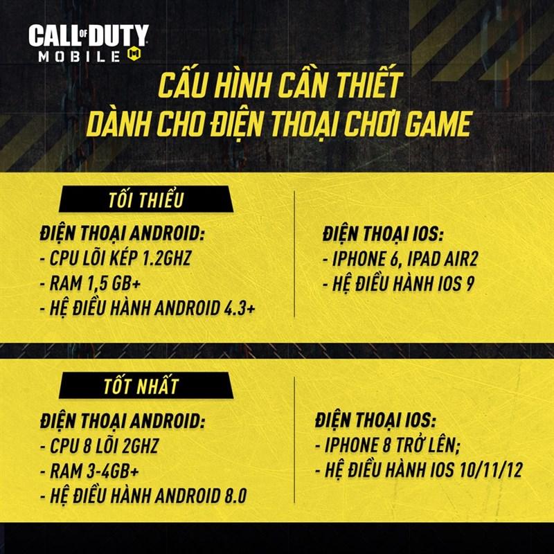 Tải Call Of Duty Việt Nam