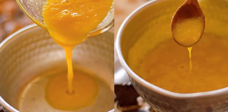 Bước 2 Làm nước sốt và mỡ hành Sò lông nướng sốt xoài