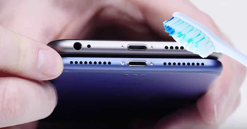 Cách vệ sinh loa iPhone đúng cách