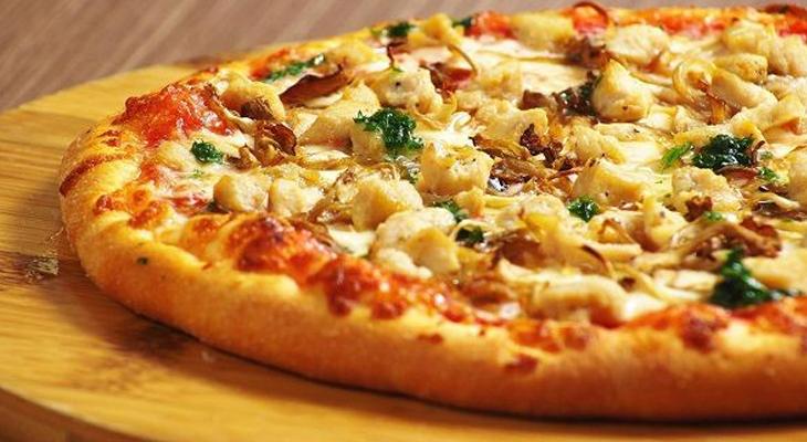 Bước 5 Thành phẩm Bánh pizza chay