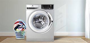 Máy giặt cửa trước giảm bung nóc: 9kg còn có 5 triệu, mua máy giặt được tặng tivi