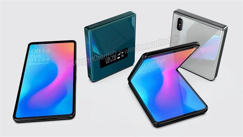 Galaxy Z Flip sắp đụng độ đối thủ đến từ Xiaomi, smartphone màn hình gập của Xiaomi vừa xuất hiện với thiết kế gập vỏ sò quen thuộc