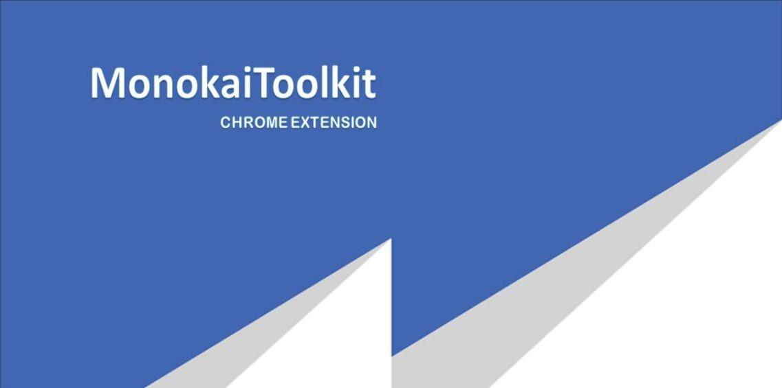 Extension MonokaiToolkit