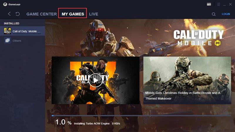Tải Call Of Duty giả lập Gameloop