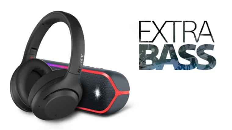 Công nghệ Extra Bass trên loa, tai nghe Sony là gì?