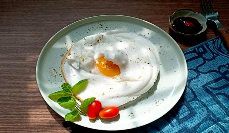 Bữa sáng đủ dưỡng chất lại vô cùng đẹp mắt với món trứng đám mây đẹp mắt