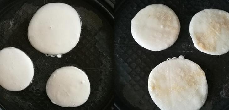 Bước 2 Chiên bánh Bánh bột nếp chiên đơn giản