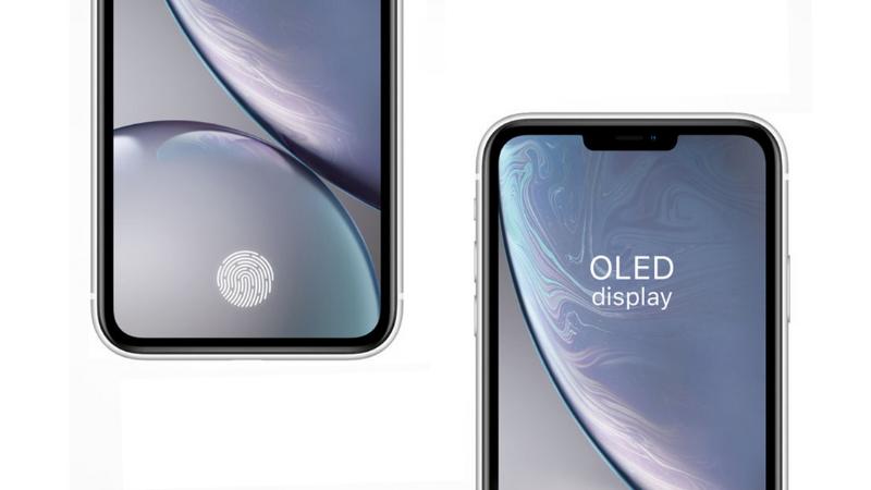 Nhờ trang bị màn hình OLED, iPhone 12 sẽ có cảm biến vân tay siêu âm
