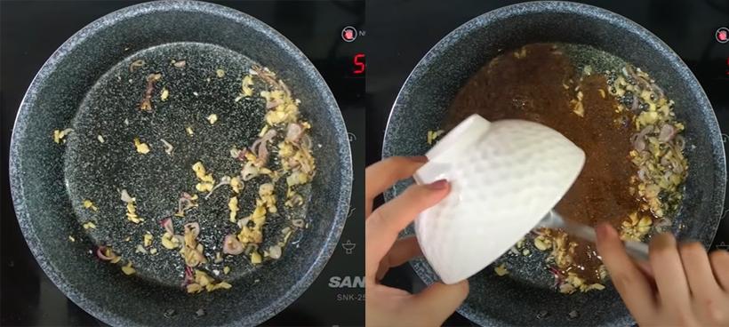 Bước 4 Làm cá khô rim mắm đường Cá khô rim mắm đường