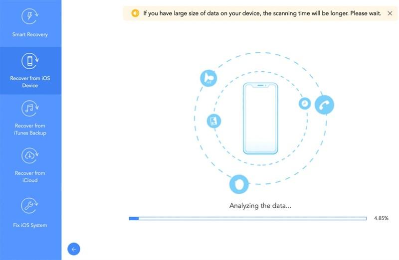 Khôi phục dữ liệu bị mất trên iPhone