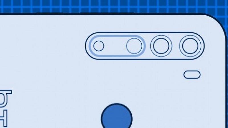 Sơ đồ hình ảnh của HTC Desire 20 Pro bị rò rỉ, tiết lộ tổng quan thiết kế mặt trước và sau của điện thoại