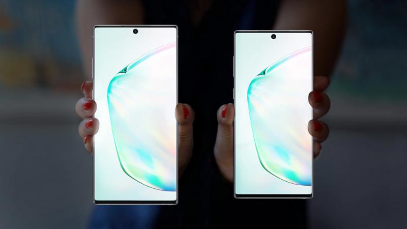 Galaxy Note 10 và Note 10+