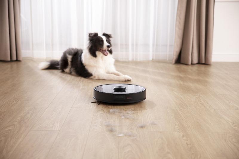 S6 MaxV sẽ bật chế độ Pet để tránh phân thú cưng khi dọn dẹp.