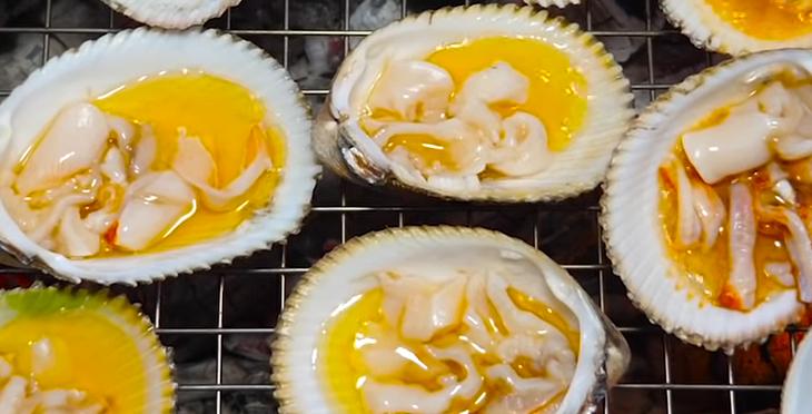 Bước 1 Sơ chế sò dương Sò dương nướng mỡ hành