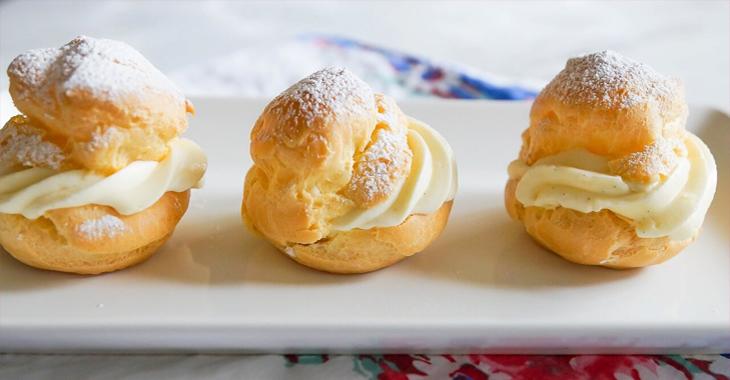 Cách làm bánh su kem thơm ngon đơn giản bằng nồi chiên không dầu
