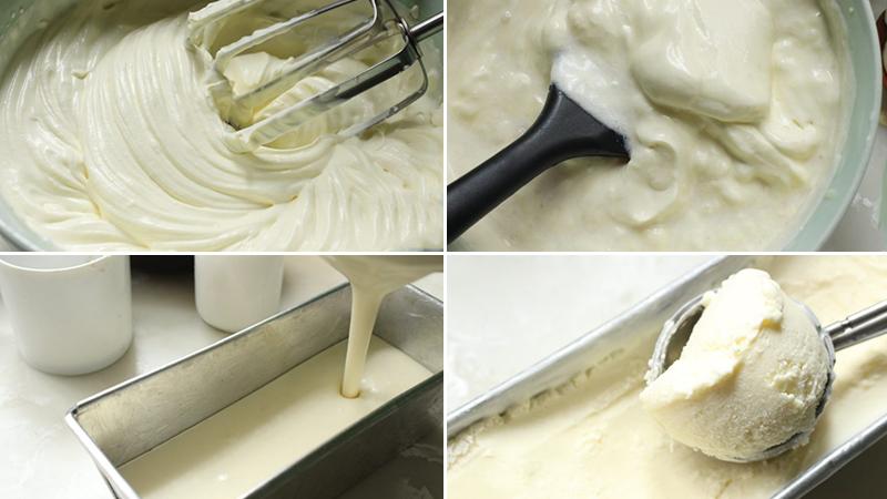 Bước 1: Làm kem dừa