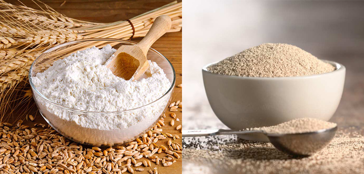 Nguyên liệu làm bánh mì mini