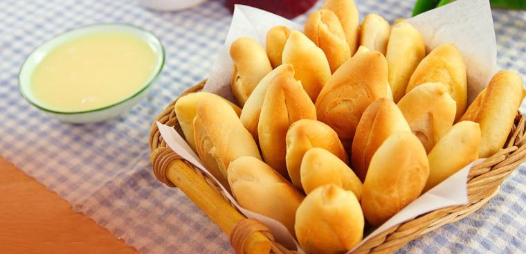 Bánh mì mini thơm ngon giòn rụm