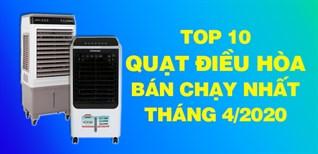 Top 10 quạt điều hòa bán chạy nhất tháng 4/2020 tại Điện máy XANH