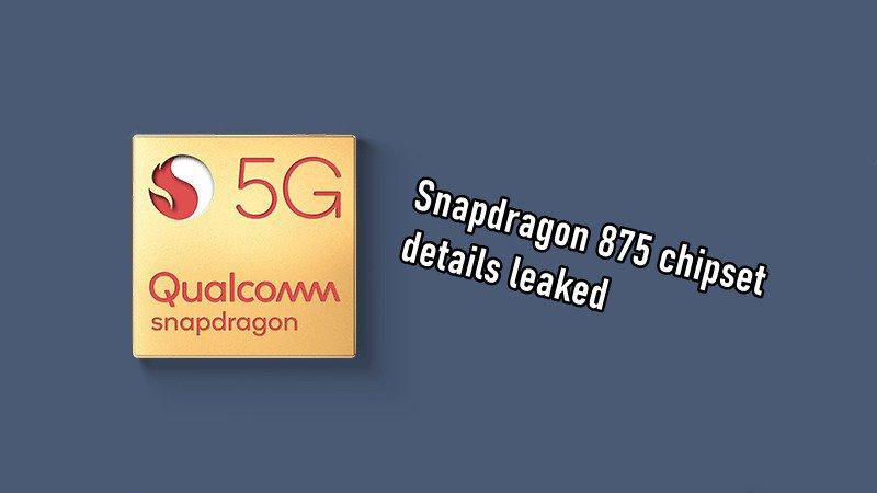 Thông tin chi tiết về chip Qualcomm Snapdragon 875 được sản xuất trên quy trình 5nm