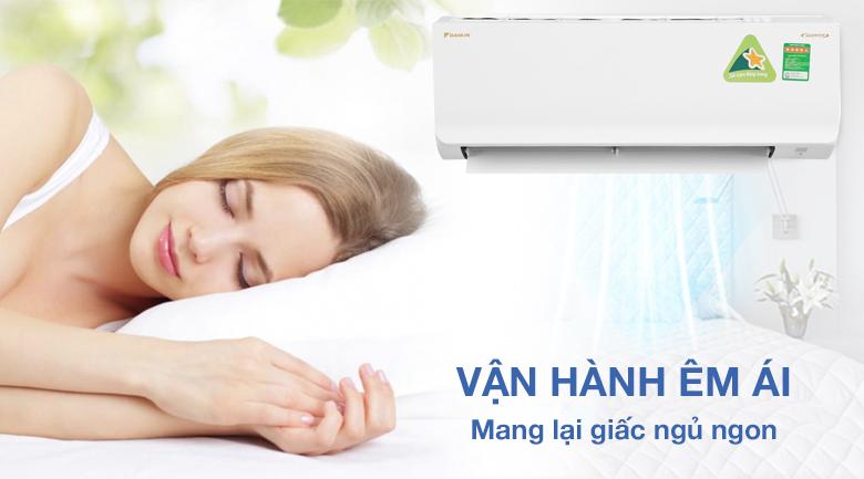 Vận hành cực kỳ êm ái cho giấc ngủ ngon