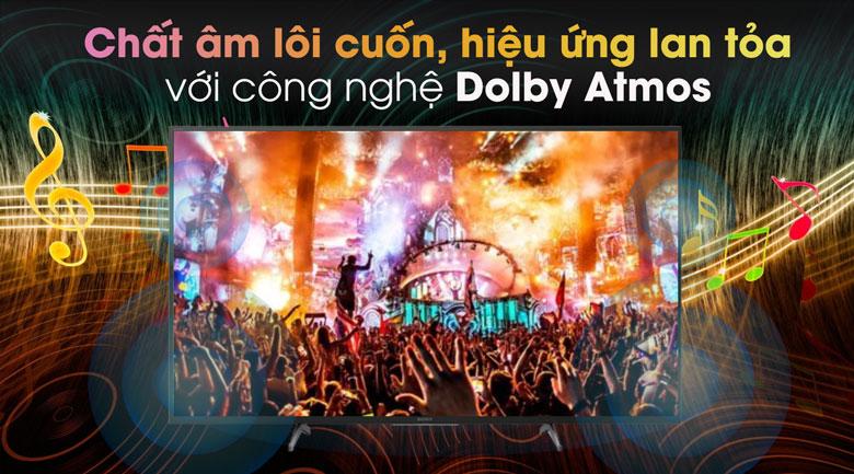 công nghệ âm thanh vòm Dolby Vision ATMOS