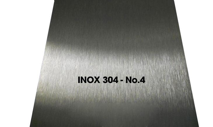 Các loại bề mặt inox 304 phổ biến hiện nay - Inox 304 - No.4