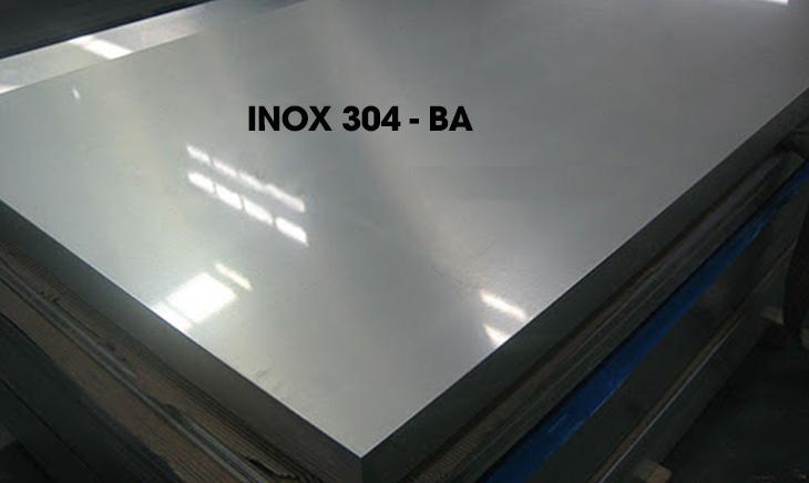 Các loại bề mặt inox 304 phổ biến hiện nay - Inox 304 - BA