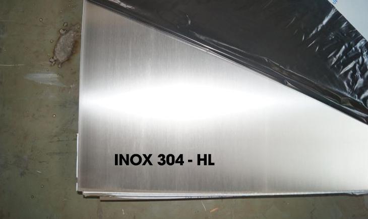 Các loại bề mặt inox 304 phổ biến hiện nay - Inox 304 - HL