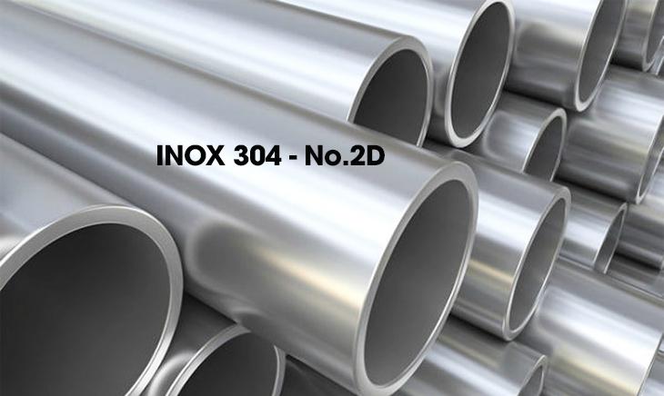 Các loại bề mặt inox 304 phổ biến hiện nay - Inox 304 - No.2D