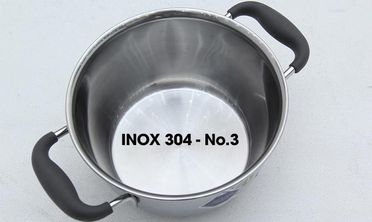 Các loại bề mặt inox 304 phổ biến hiện nay - Inox 304-No.3
