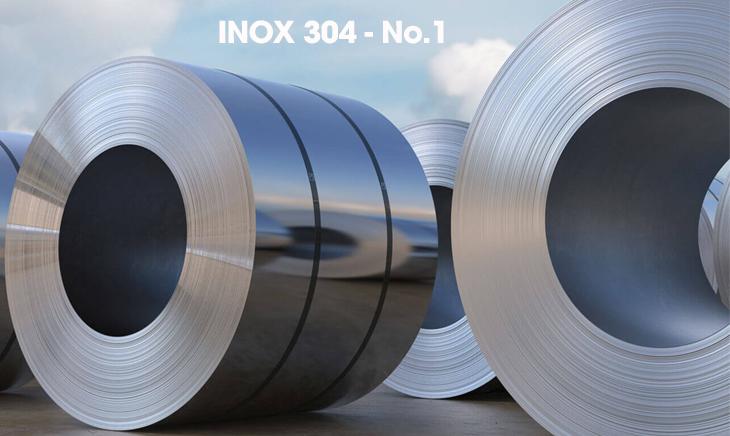 Các loại bề mặt inox 304 phổ biến hiện nay - Inox bề mặt No.1