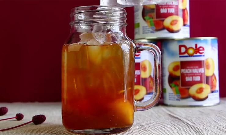 Mùa nóng cùng pha chế trà trái cây với trái cây đóng hộp của Dole