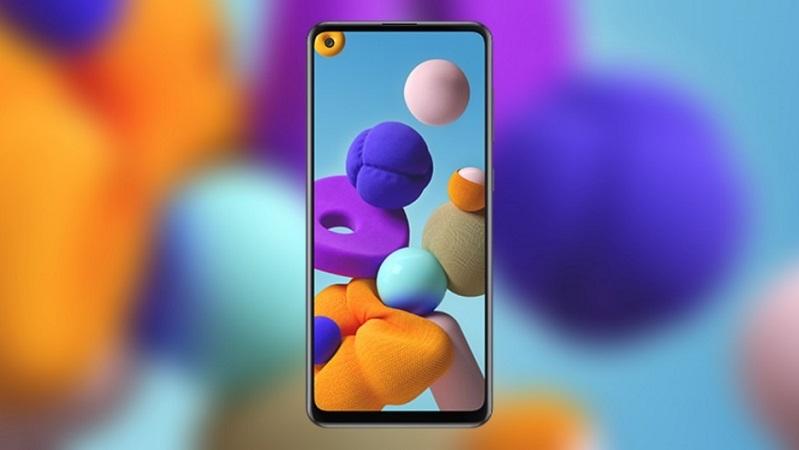 Galaxy A21s lộ ảnh render kèm cấu hình khá đầy đủ, màn hình 6.5 inch, có cả NFC