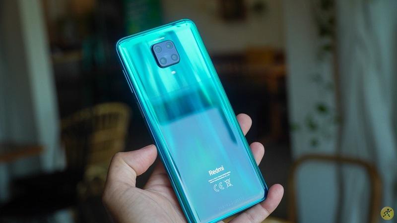 Hình ảnh Xiaomi Redmi Note 9 Pro màu xanh lá đặc biệt