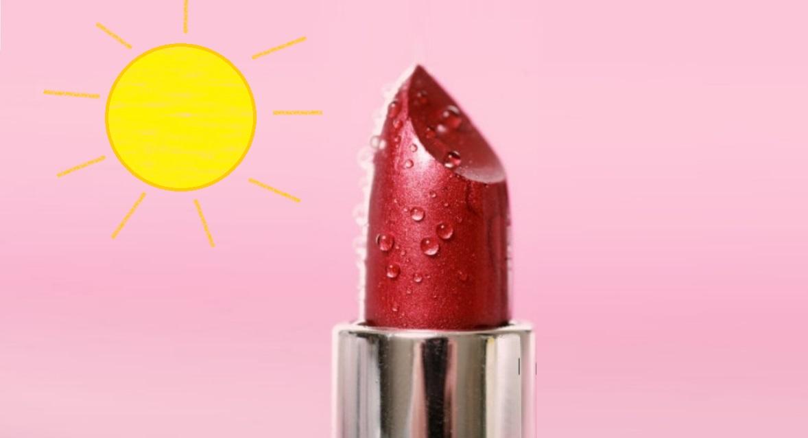Tủ lạnh mini đựng mỹ phẩm tránh cho mỹ phẩm tiếp xúc trực tiếp với ánh nắng mặt trời