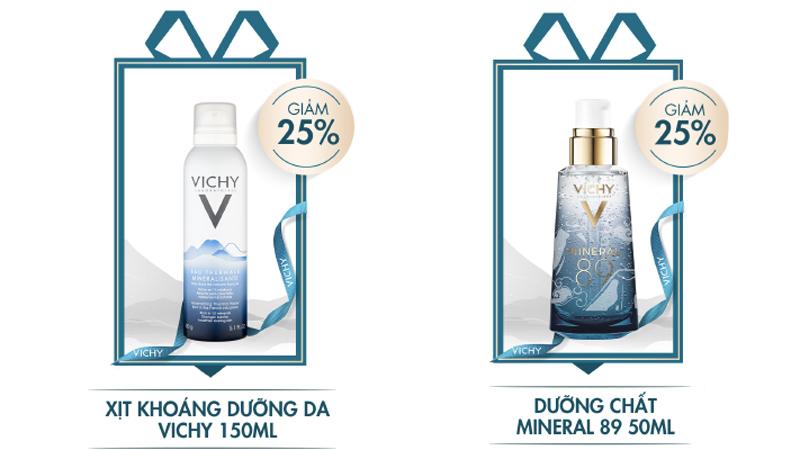 Những sản phẩm thuộc thương hiệu Vichy được giảm giá trong tháng 05