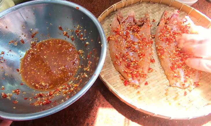 Bước 4 Phơi cá Khô cá lóc