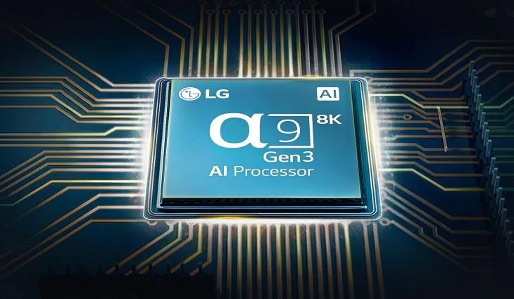 AI 8K thế hệ thứ 3 α9