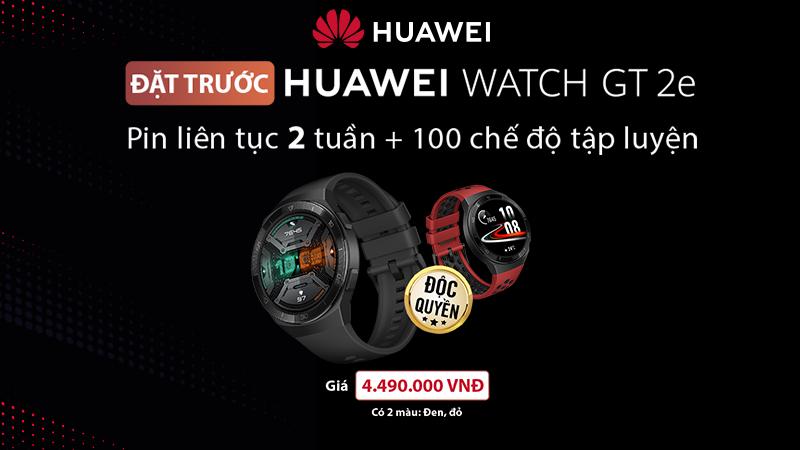 Đặt trước Huawei Watch GT 2e