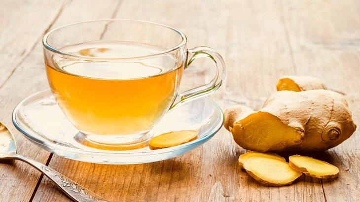 Tác dụng của trà gừng