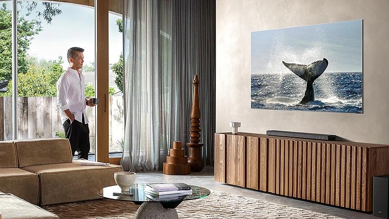 Samsung ra mắt thế hệ TV QLED 8K mới với tỷ lệ màn hình chiếm đến 99%