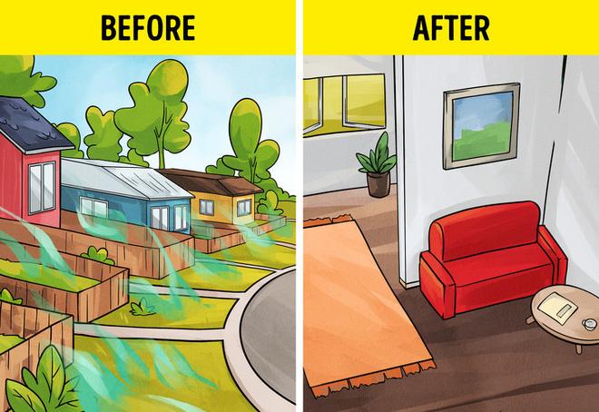 Xử lý khí tự nhiên tích tụ trong nhà