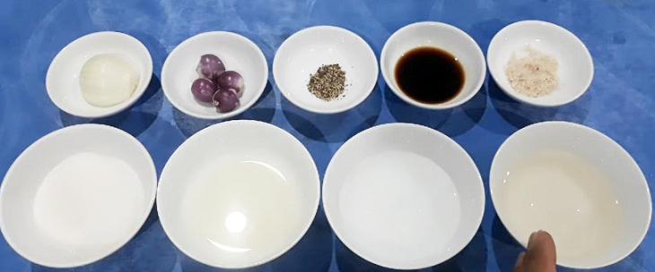 Nguyên liệu món ăn 2 cách làm dầu giấm trộn salad