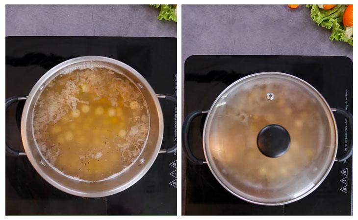 nấu nước dùng