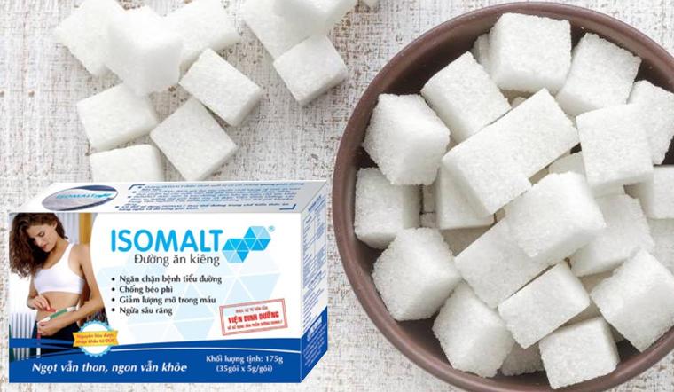 Đường ăn kiêng Isomalt là đường gì? Tác dụng của đường Isomalt đối với sức khoẻ