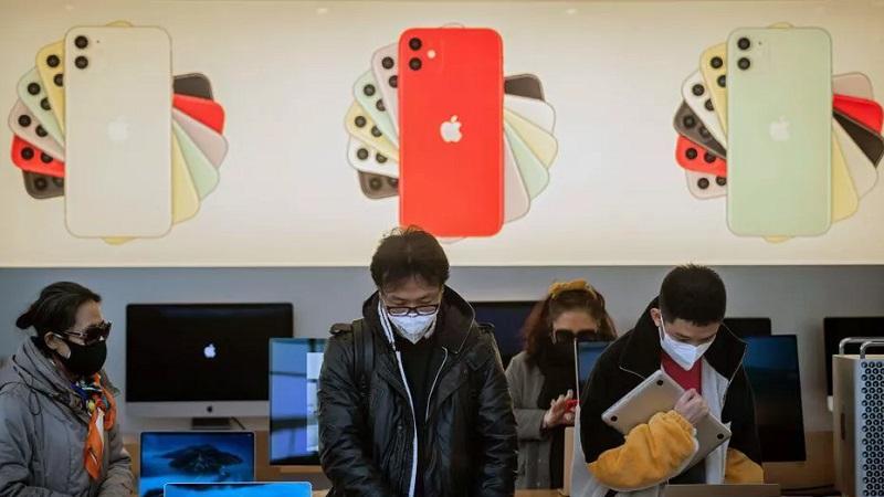 Bất ngờ chưa, doanh số iPhone tại Trung Quốc đã tăng cao trong tháng 4
