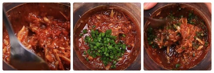 Bước 2 Làm sốt sa tế Hàu nướng sa tế